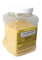 Carnauba Wax Flakes #1, Prime Yellow