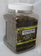 Carnauba Wax Flakes #4, Dark Brown