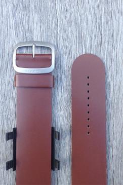 Brown Leather Wrist Bracelet