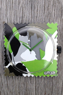 Camouflage S.T.A.M.P.S. Single Watch