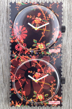 Sea Of Flowers STAMPS Double Watch