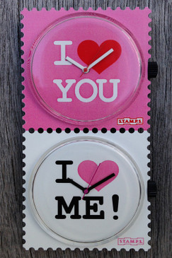 You & Me STAMPS Double Watch