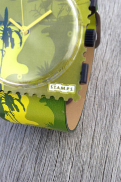 Lady Camo STAMPS Watch