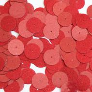 Round sequins 15mm Red Metallic Sparkle Glitter Texture
