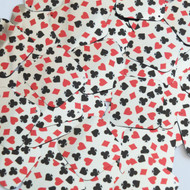 """Square Diamond sequins 1.5"""" Playing Card Clubs Hearts Spades Diamonds Silver Metallic"""