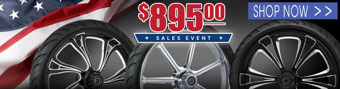 $895 Wheel and Tire Packages on sale now!
