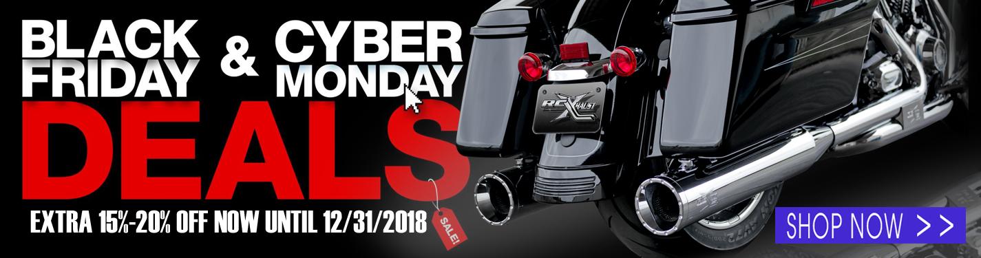15%-20% Harley Exhaust | RCX Exhaust