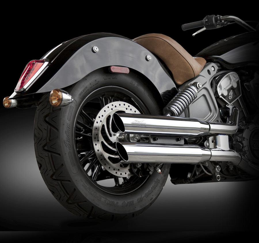 Rcx Exhaust 3 Slip On Mufflers Indian Scout