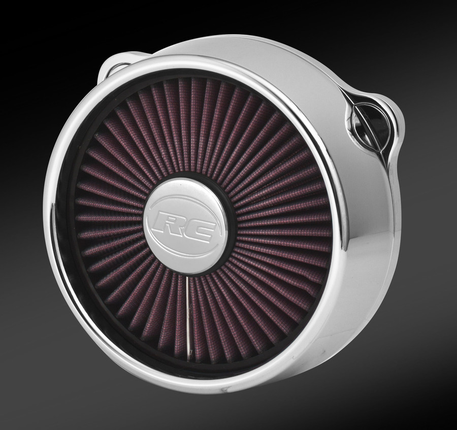 TRU-FLO BLITZ CHROME AIR CLEANER