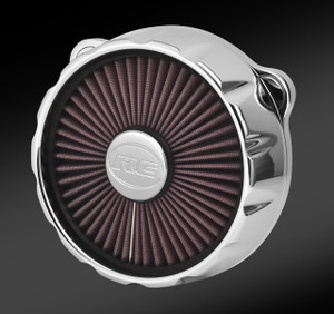 TRU-FLO EXCALIBUR CHROME AIR CLEANER