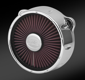TRU-FLO RIVAL CHROME AIR CLEANER