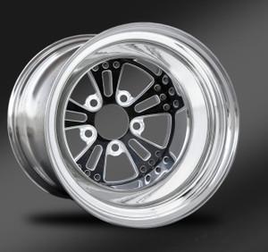 Fusion Eclipse Non-Beadlock Rear Wheel • Fusion Eclipse Center • Polished Outer