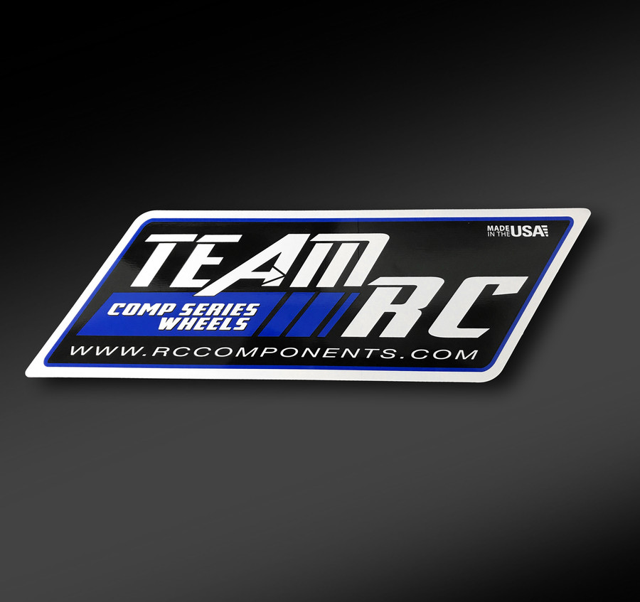 Large team rc 15 vinyl decal