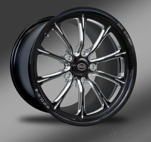 Exile-S (no rim accents) Eclipse Finish- Street Fighter Wheels