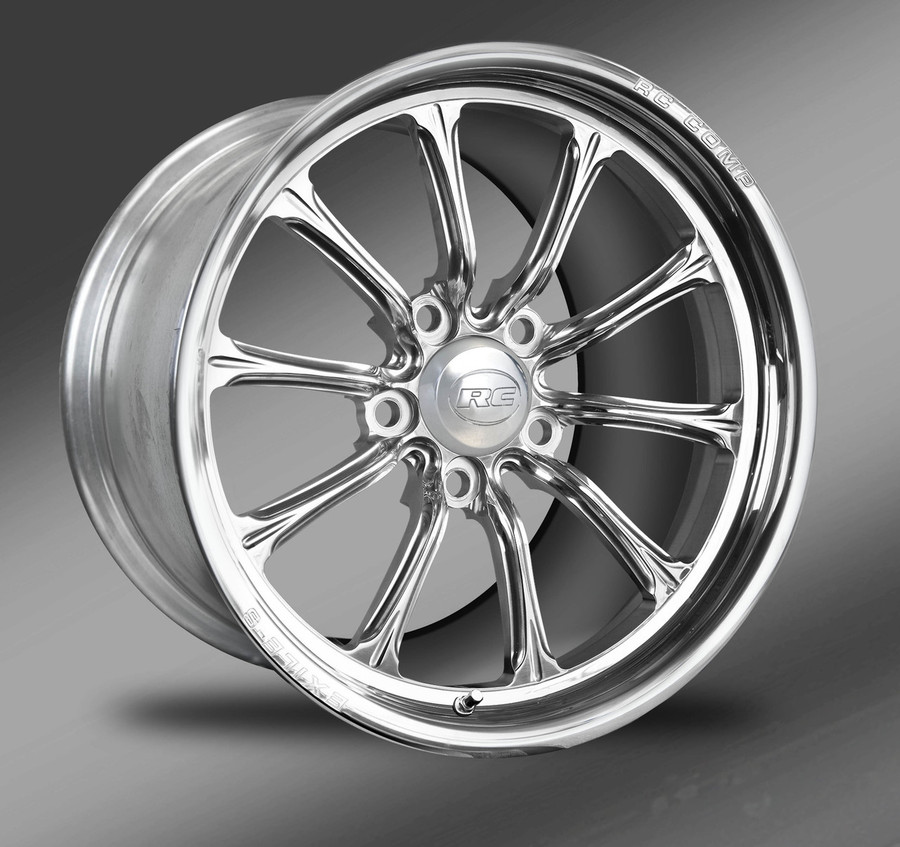 Exile-S (No rim accents) Polished finish, Street Fighter Wheels