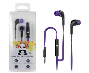 iPanda IV6 Earbuds with Inline Mic & Volume Control