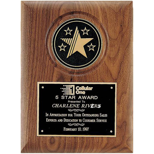 Star Medallion Plaque (P3199)