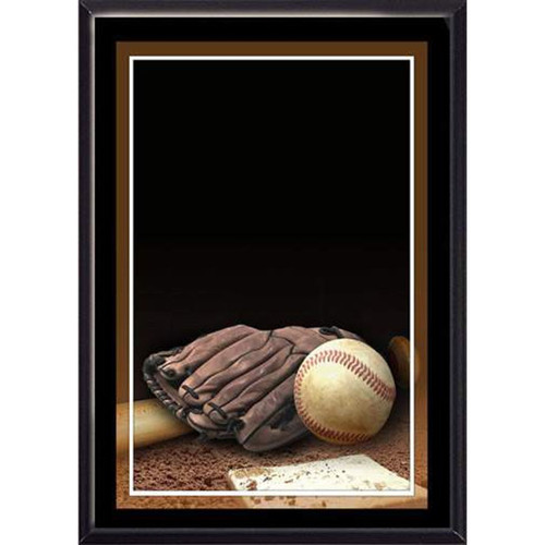 "5"" x 7"" Baseball Plaque"