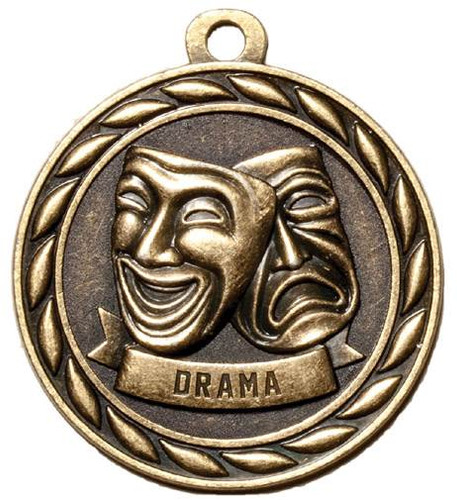Wreath Drama Medal