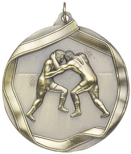Ribbon Wresting Medal