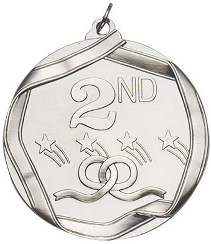 Ribbon Second Place Medal