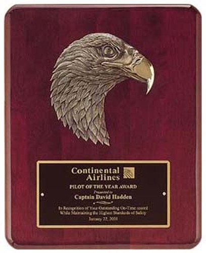 Plaque/Antique Bronze Eagle