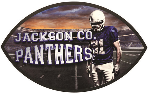 Full Color Football Plaque (UN5757)