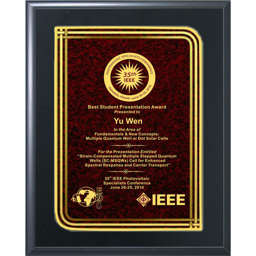 Red Infinity Plaque (PL891)