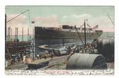 Chester, Pennsylvania Postcard:  Roach's Ship Yard