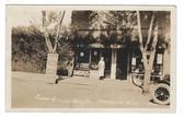 Marmarth, North Dakota Real Photo Postcard:  Foster-Gilman Drug Store