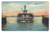 Camden, New Jersey Postcard:  Camden Ferry Boat Washington