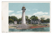 Biloxi, Mississippi Postcard:  The Biloxi Lighthouse