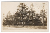 Southern Pines, North Carolina Real Photo Postcard:  The Hollywood