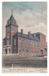 Newport, New Hampshire Postcard:  Opera House