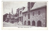 Blairstown, New Jersey Postcard:  Main Street