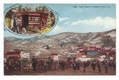 Cripple Creek, Colorado Postcard:  Early Days Pioneers