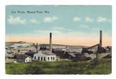 Mineral Point, Wisconsin Postcard:  Zinc Works