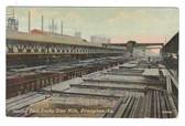 Birmingham, Alabama Postcard:  Loading Dock, Ensley Steel Mills