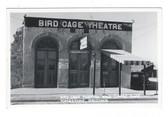 Tombstone, Arizona Real Photo Postcard:  Bird Cage Theatre and Coffee Shop