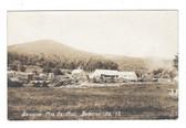 Brighton, Maine Real Photo Postcard:  Brighton Manufacturing Co. Sawmill