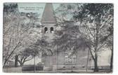 Blackshear, Georgia Postcard:  First Methodist Church