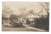 Andover, Maine Real Photo Postcard:  The Homestead