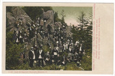 Lake Memphremagog, Vermont Postcard:  Golden Rule Lodge on Owl's Head Mountain