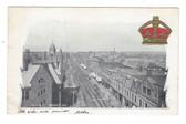 Amherst, Nova Scotia, Canada Patriotic Postcard:  Victoria Street
