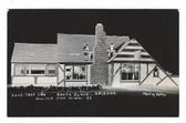 Santa Claus, Arizona Real Photo Postcard:  Xmas Tree Inn
