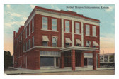 Independence, Kansas Postcard:  Beldorf Theatre