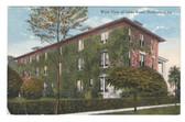 Hammond, Louisiana Postcard:  West View of Oaks Hotel