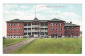 Mattoon, Illinois Postcard:  Odd Fellows Home