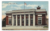 Griffin, Georgia Postcard:  U. S. Post Office