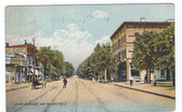 New Philadelphia, Ohio Postcard:  North Broadway
